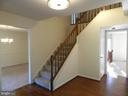 Spacious foyer - 3188 RIVANNA CT, WOODBRIDGE