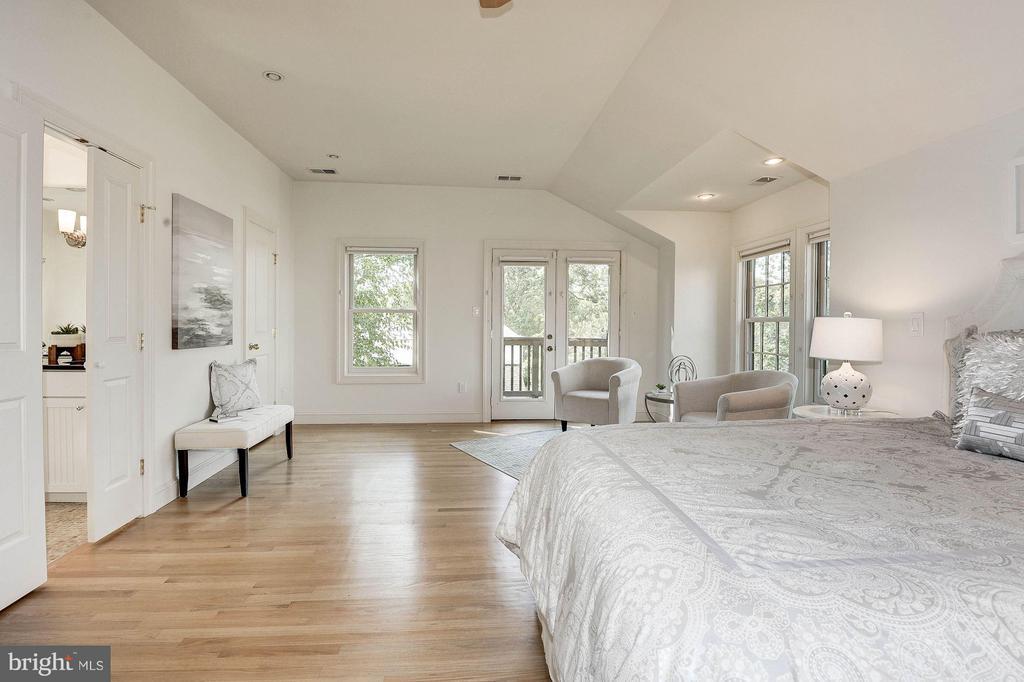 Luxurious Master Bedroom Suite - 219 MASON AVE, ALEXANDRIA