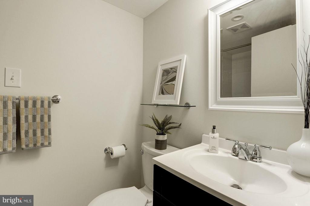 Lower Level Full Bathroom - 219 MASON AVE, ALEXANDRIA