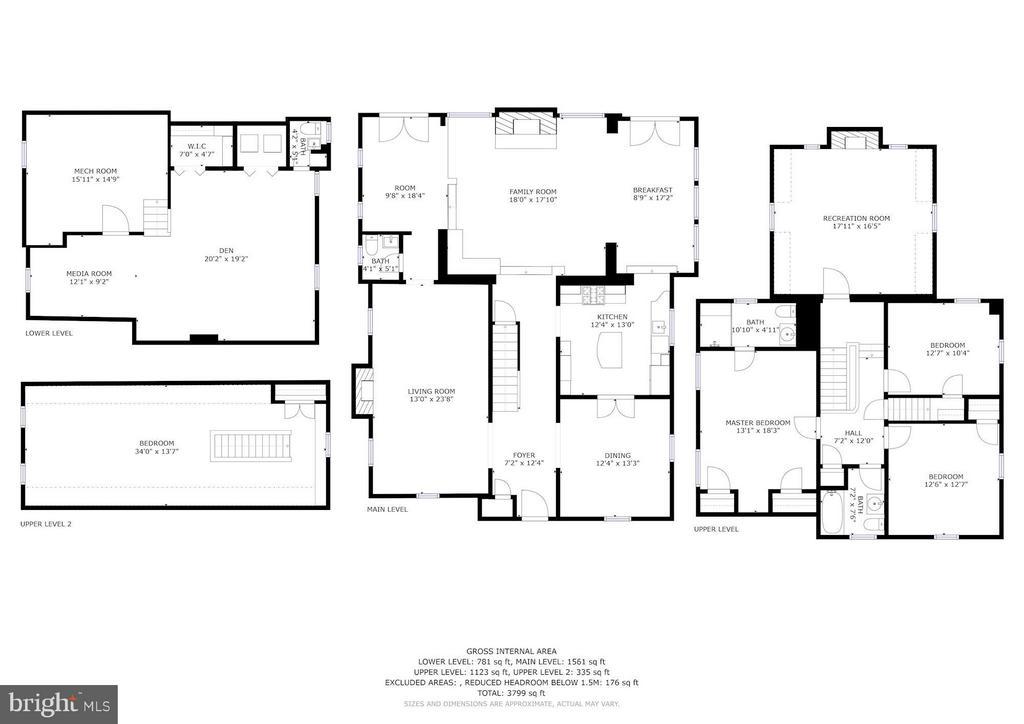 Floor Plans - 3328 RUNNYMEDE PL NW, WASHINGTON