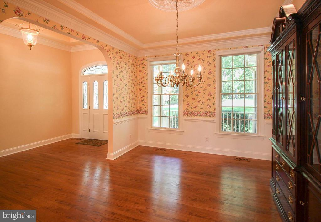 Hardwood Flooring & Arched Doorways~ - 11510 HENEGAN PL, SPOTSYLVANIA