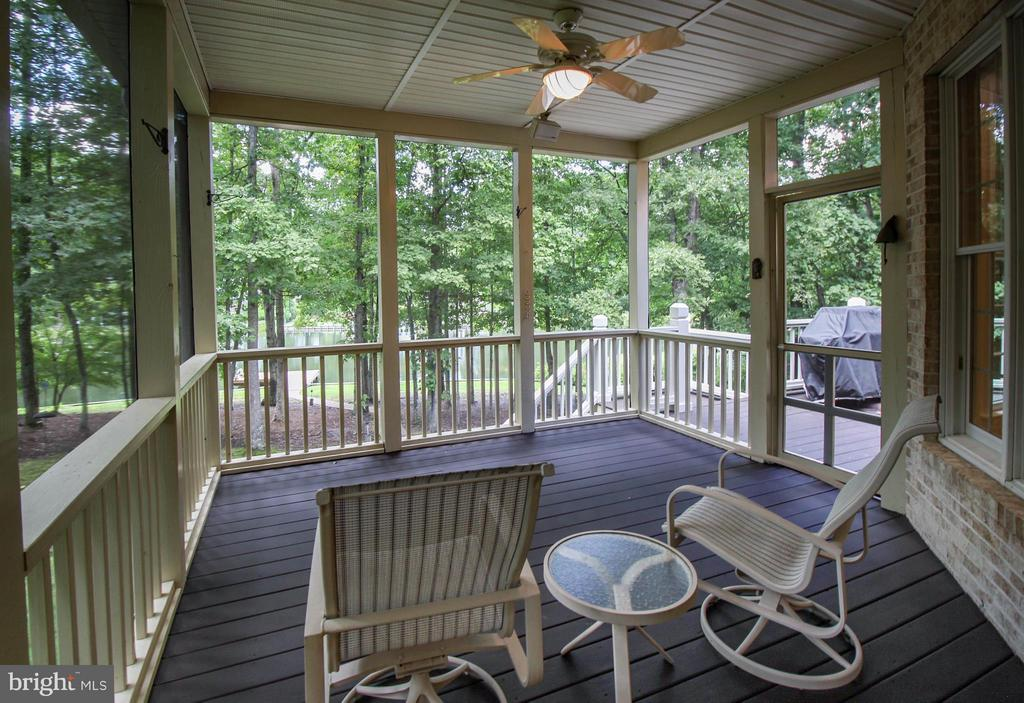 Enjoy Lake Views from Screened Porch - 11510 HENEGAN PL, SPOTSYLVANIA