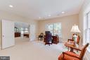 Versatile room serving as office or den. - 11102 DEVEREUX STATION LN, FAIRFAX STATION