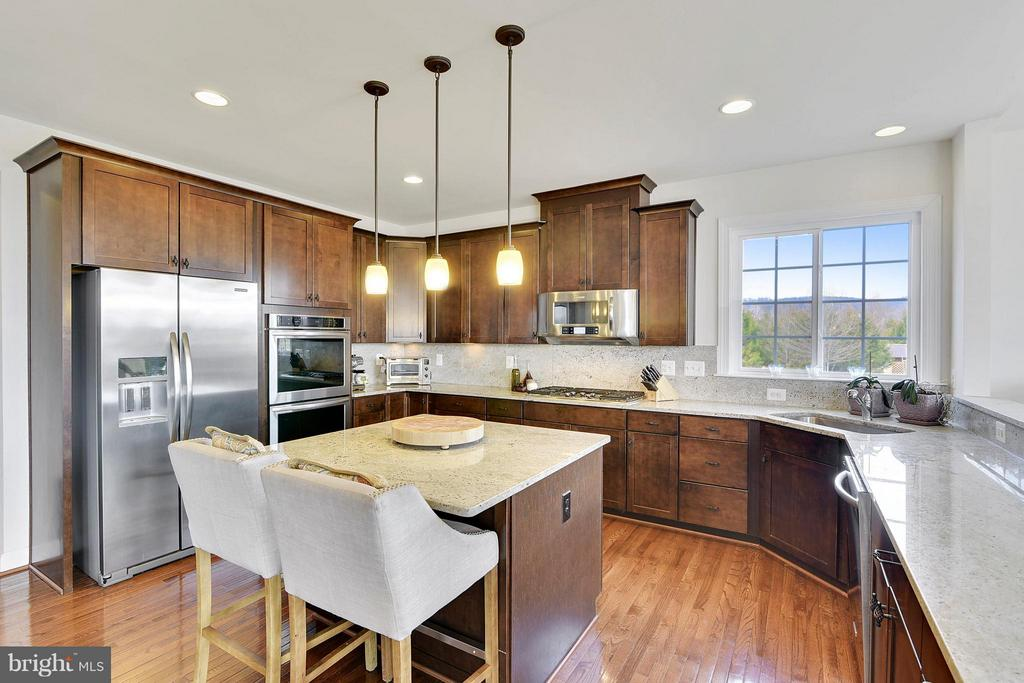 Beautiful Granite Countertops and Backsplash - 15652 BERKHAMSTEAD PL, LEESBURG
