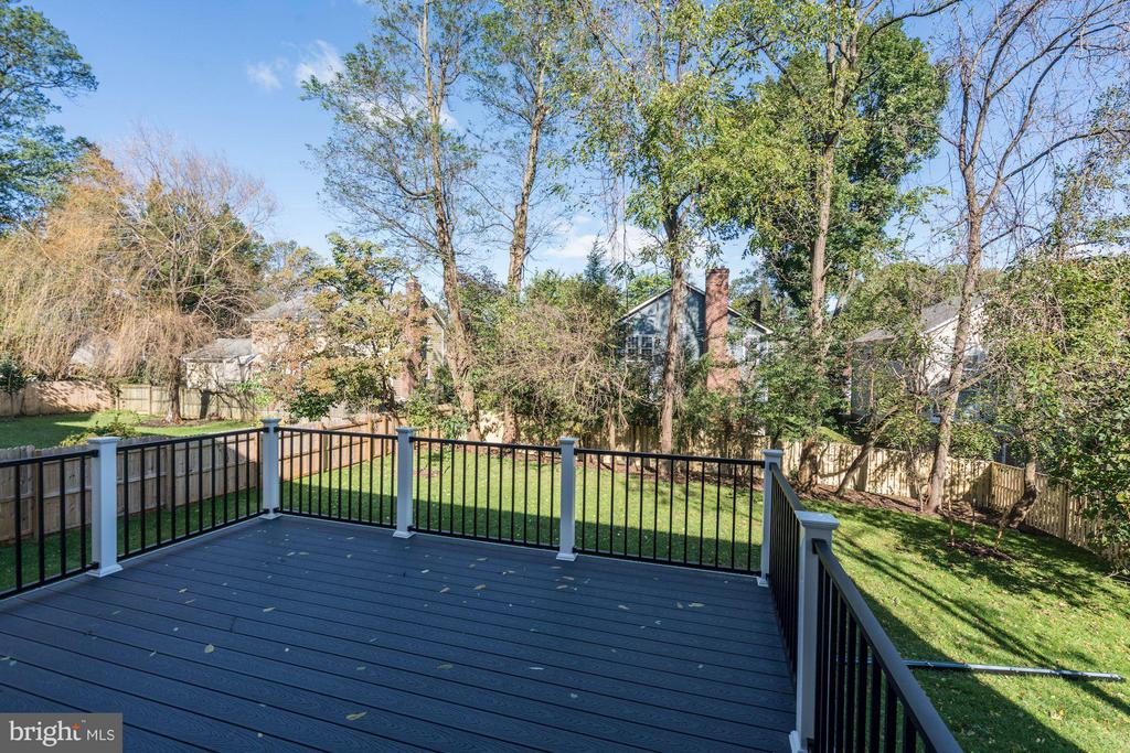 Deck of Rear - 4019 20TH ST N, ARLINGTON