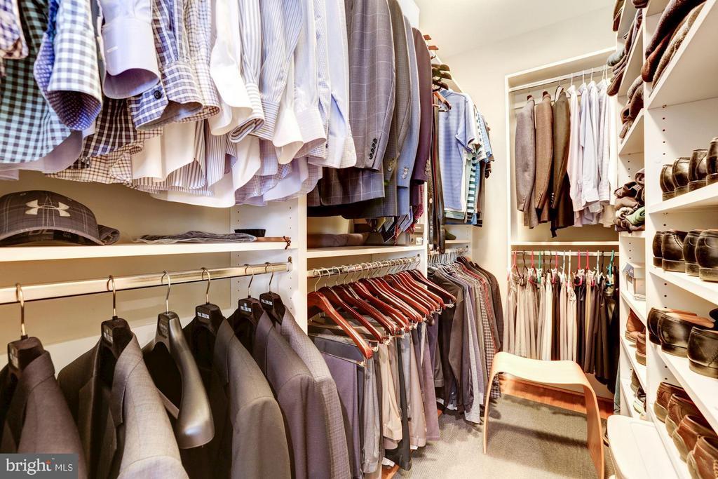 Master Closet - 5005 CEDAR CROFT DR, BETHESDA