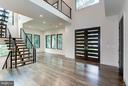 gorgeous foyer looking to the floating staircase - 3546 UTAH ST N, ARLINGTON
