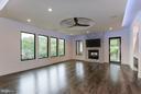 Family Room- HICKORY FLOORS! - 3546 UTAH ST N, ARLINGTON
