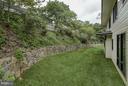 Stone retaining wall - 3546 UTAH ST N, ARLINGTON