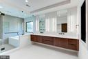Master bath with luxury finishes - 3546 UTAH ST N, ARLINGTON