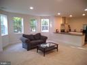 1645 Sq Ft Finished in Bsmt +  300 Sq Ft Storage - 43341 CEDAR POND PL, CHANTILLY