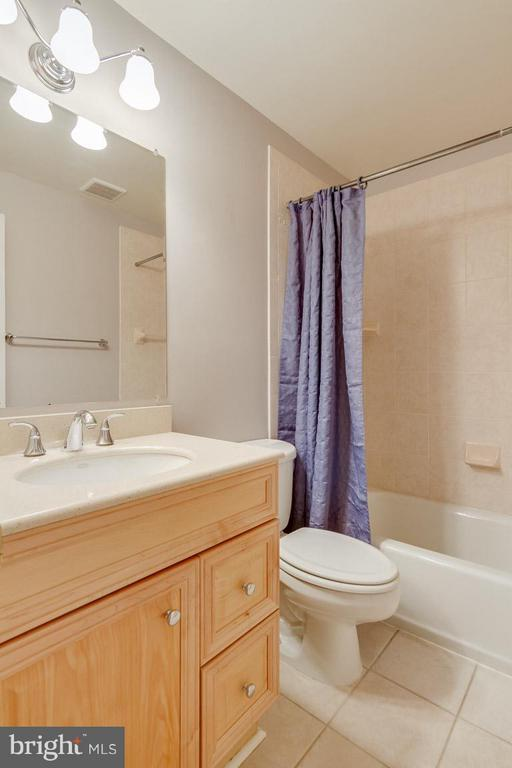Full Bath in basement - 6005 BURNSIDE LANDING DR, BURKE
