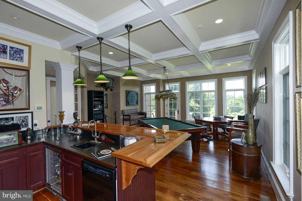 Bar and billiard room - 21051 ST LOUIS RD, MIDDLEBURG