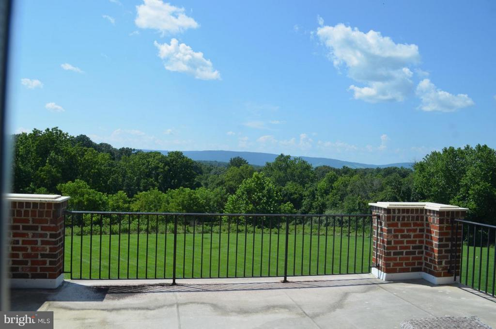 View from Master bedroom - 21051 ST LOUIS RD, MIDDLEBURG