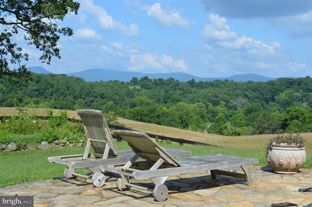 View of Blue Ridge from Pool - 12198 CREST HILL RD, HUME