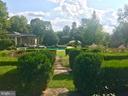 Pool and garden - 35387 CREEK RIDGE LN, MIDDLEBURG