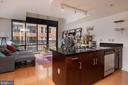 Kitchen - 912 F ST NW #500, WASHINGTON