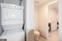 Master Bath/Laundry - 912 F ST NW #500, WASHINGTON