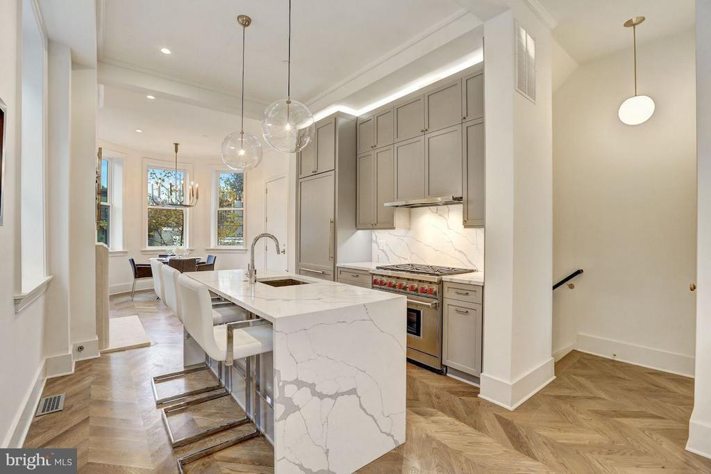 Designer Kitchen with European Appliances - 1810 15TH ST NW #NORTH, WASHINGTON