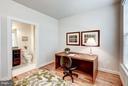 Main Level Bedroom with Ensuite - 11463 CRANEBILL ST, FAIRFAX