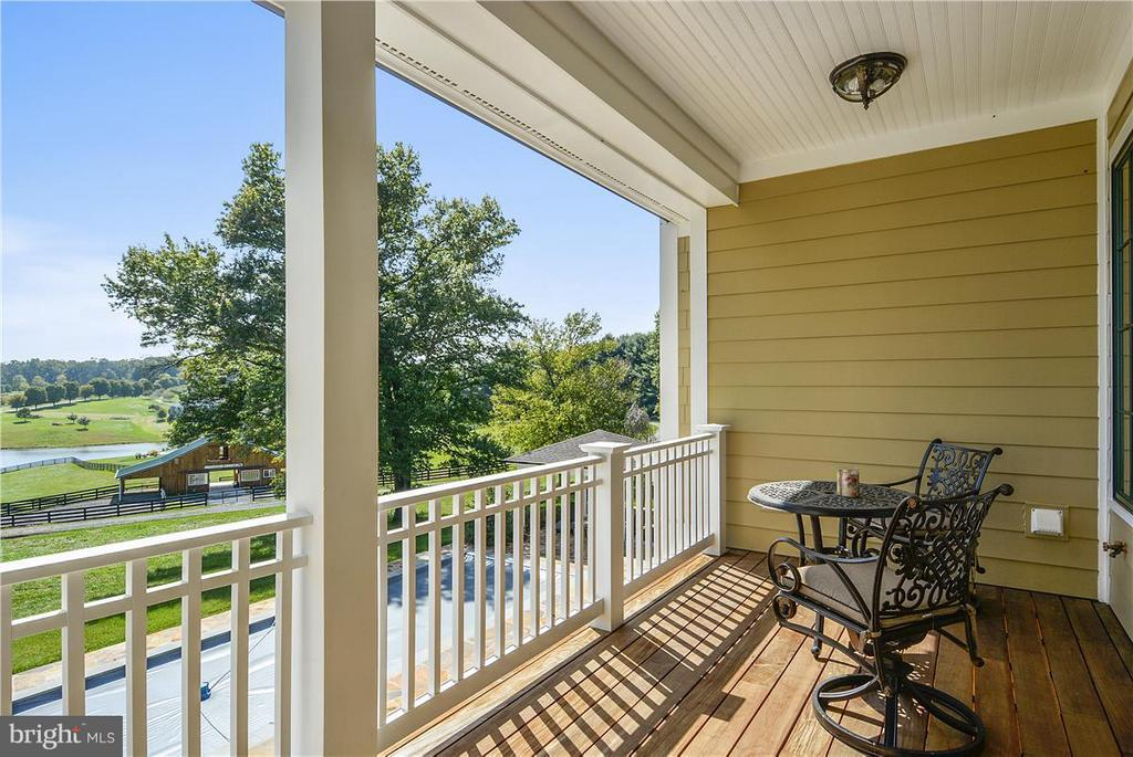 View from one of the porches - 20271 GILESWOOD FARM LN, PURCELLVILLE