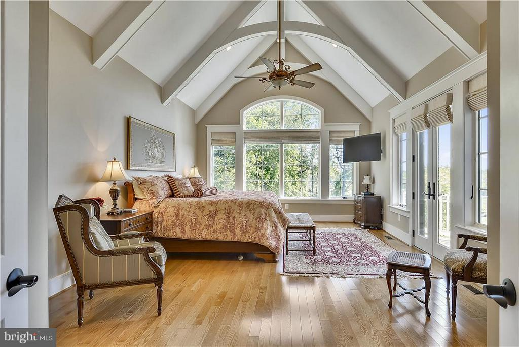 Views, porch and vaulted ceiling - 20271 GILESWOOD FARM LN, PURCELLVILLE