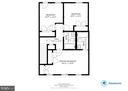 Upper level floor plan - 9094 FLORIN WAY, UPPER MARLBORO