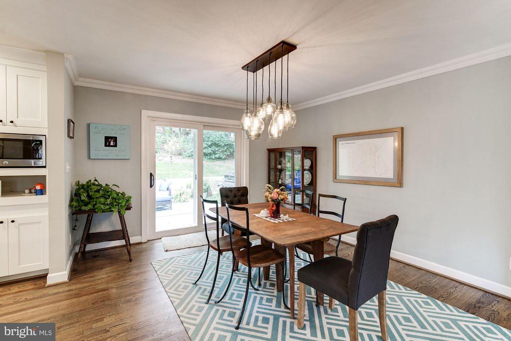 Dining Room - 6538 DEARBORN DR, FALLS CHURCH