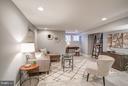 Living area (Lower level) - 948 WESTMINSTER ST NW, WASHINGTON