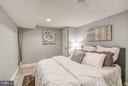 Bedroom (Lower level) - 948 WESTMINSTER ST NW, WASHINGTON