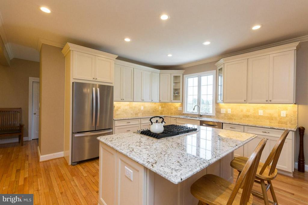 Generous Sized Island for Entertaining! - 42355 GREEN MEADOW LN, LEESBURG