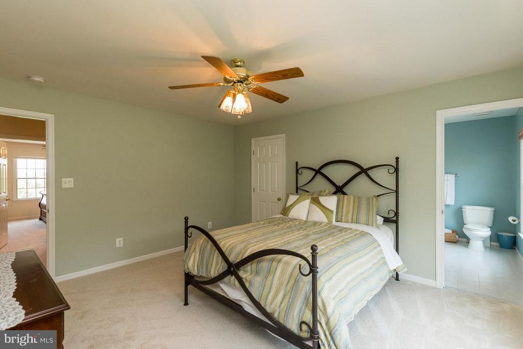 Bedroom #4 with Private Bathroom - 42355 GREEN MEADOW LN, LEESBURG