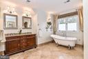 Spa Master Bath with Heated Flooring - 1309 STAMFORD WAY, RESTON
