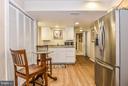Min Kitchen with Granite & SS Refrigerator - 1309 STAMFORD WAY, RESTON