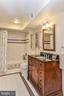 Lower Level Bathroom - 1309 STAMFORD WAY, RESTON