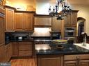 Kitchen includes  cooktop 6 burner gas - 23590 SALLY MILL RD, MIDDLEBURG