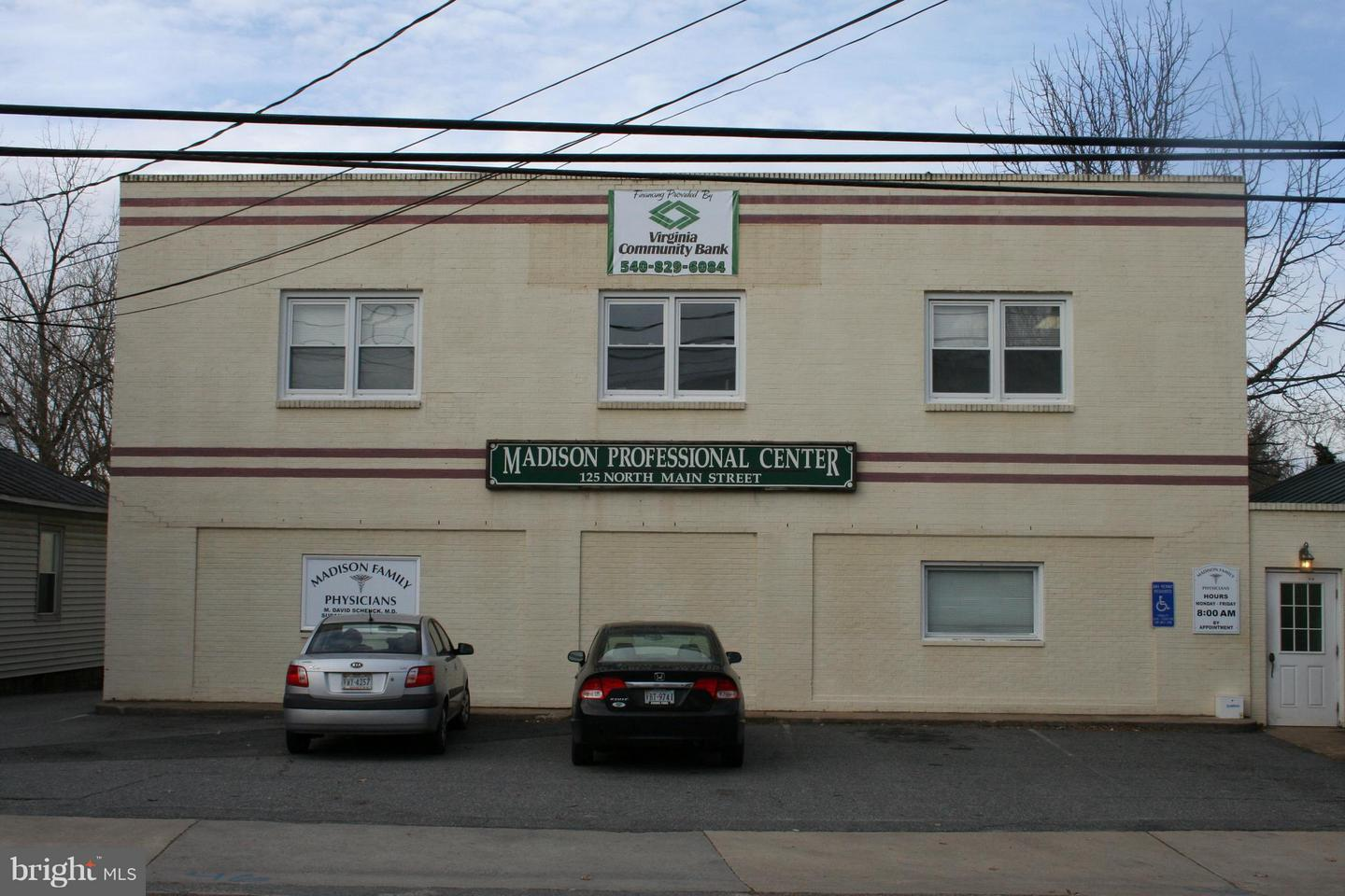 Commercial for Sale at 125n Main St Madison, Virginia 22727 United States