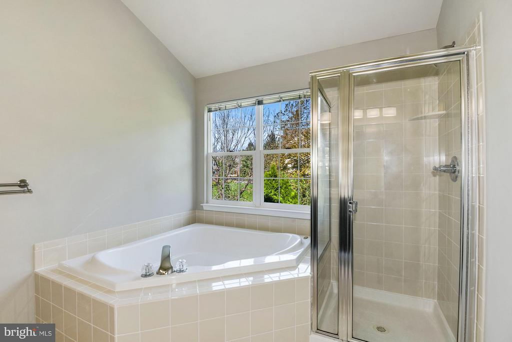 Master Bathroom w / Separate Shower / Soaking Tub - 43616 DUNHILL CUP SQ, ASHBURN