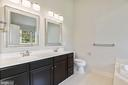Master Bedroom w / Upgraded Fixtures  Duel Vanity - 43616 DUNHILL CUP SQ, ASHBURN