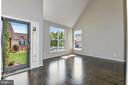 Two Story Front Entry w / Beveled Glass Storm Door - 43616 DUNHILL CUP SQ, ASHBURN