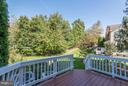 Large Deck off the Family Room - 43616 DUNHILL CUP SQ, ASHBURN