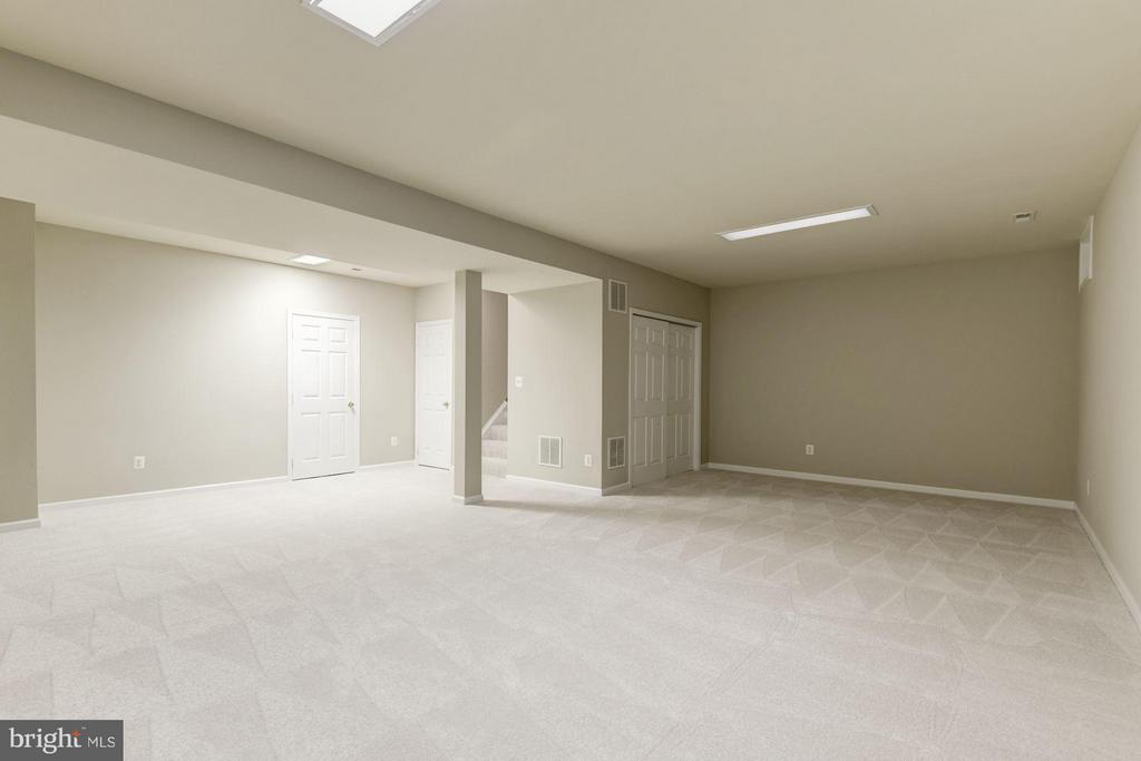 Finished Basement Perfect for Entertaining - 43616 DUNHILL CUP SQ, ASHBURN