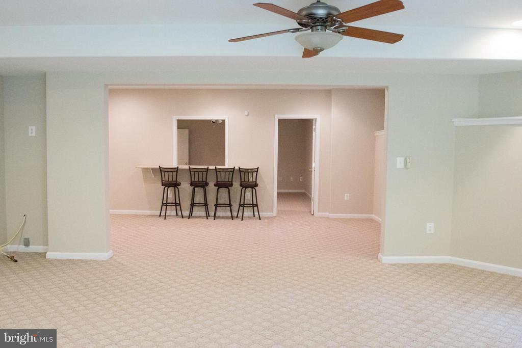 Recreation Room - 10610 WHISPERING WAY, FREDERICKSBURG