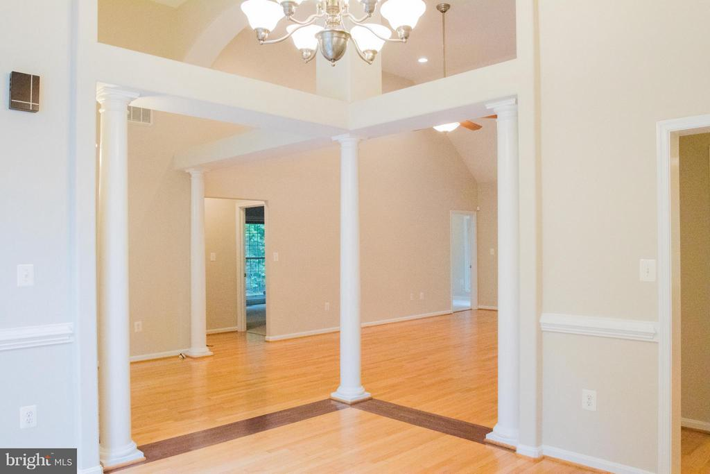 View from Dining Room - 10610 WHISPERING WAY, FREDERICKSBURG