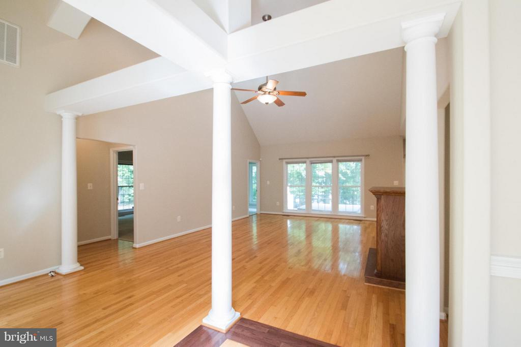 Living Room - 10610 WHISPERING WAY, FREDERICKSBURG