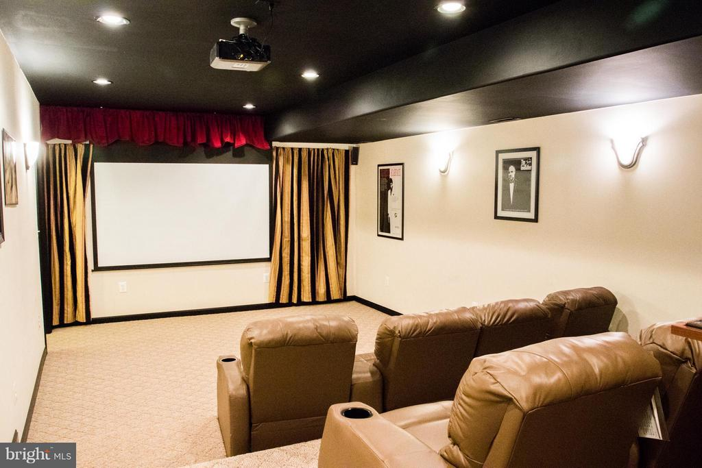 Theater Room - 10610 WHISPERING WAY, FREDERICKSBURG