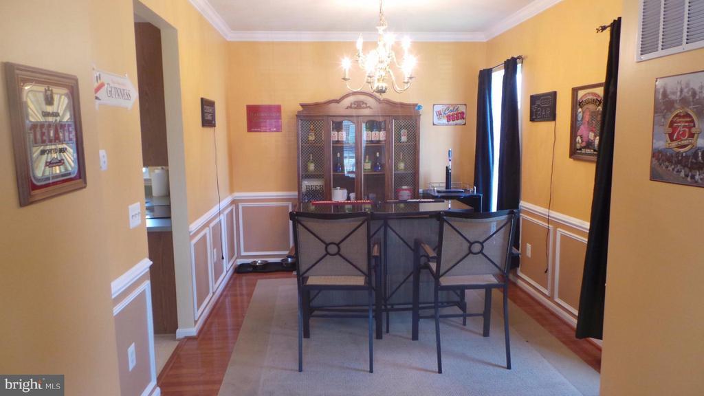 Dining Room - 6917 HAWTHORNE WOODS CIR, FREDERICKSBURG
