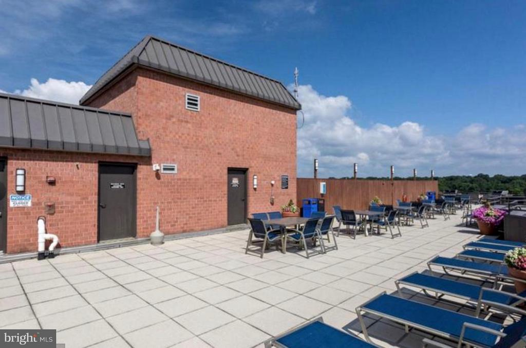 ~Roof top terrance with grills~ - 1001 N VERMONT ST #106, ARLINGTON