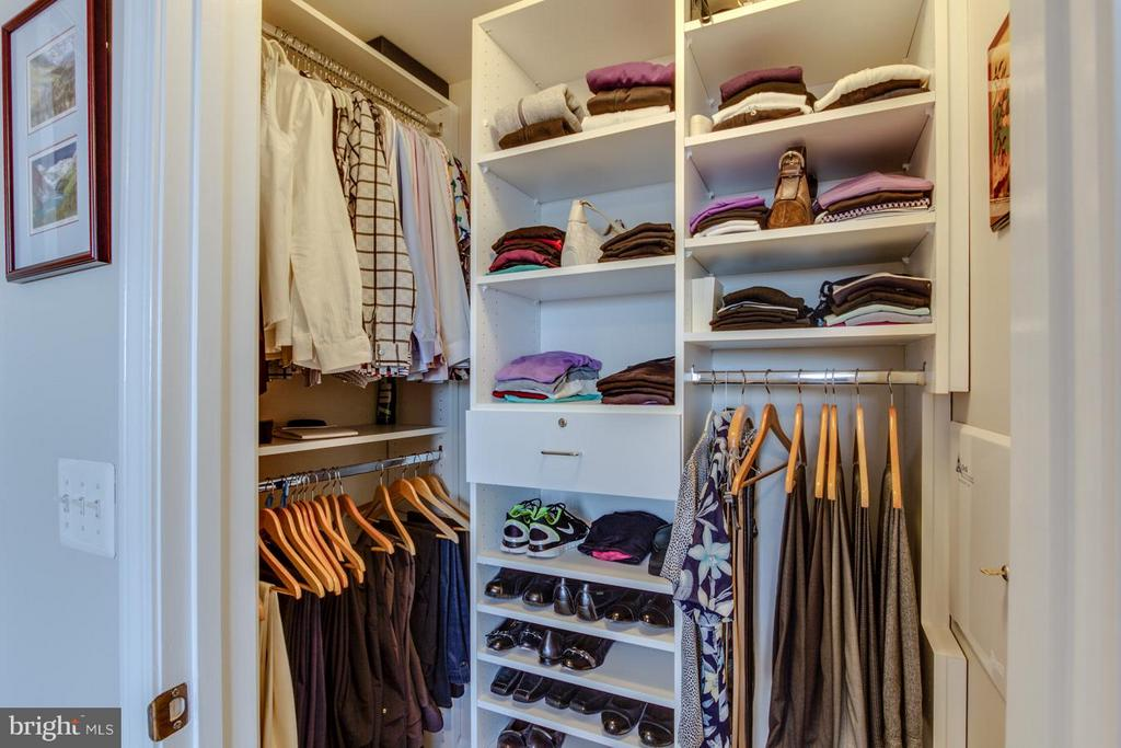 Bedroom Master Closet - 12001 MARKET ST #424, RESTON