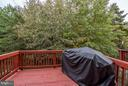 Deck Overlooks Trees - 21436 FALLING ROCK TER, ASHBURN